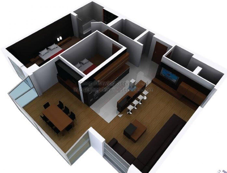 3D condo design