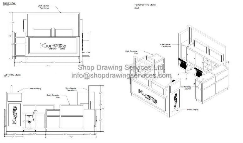 Kiosk layouts
