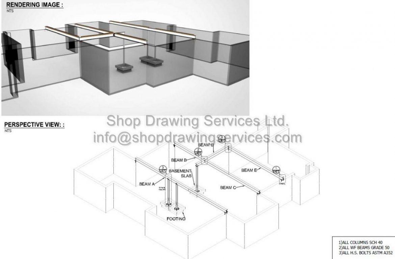 Residential Steel Shop Drawings