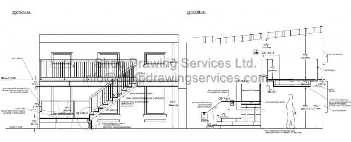 Steel Structure Shop drawings