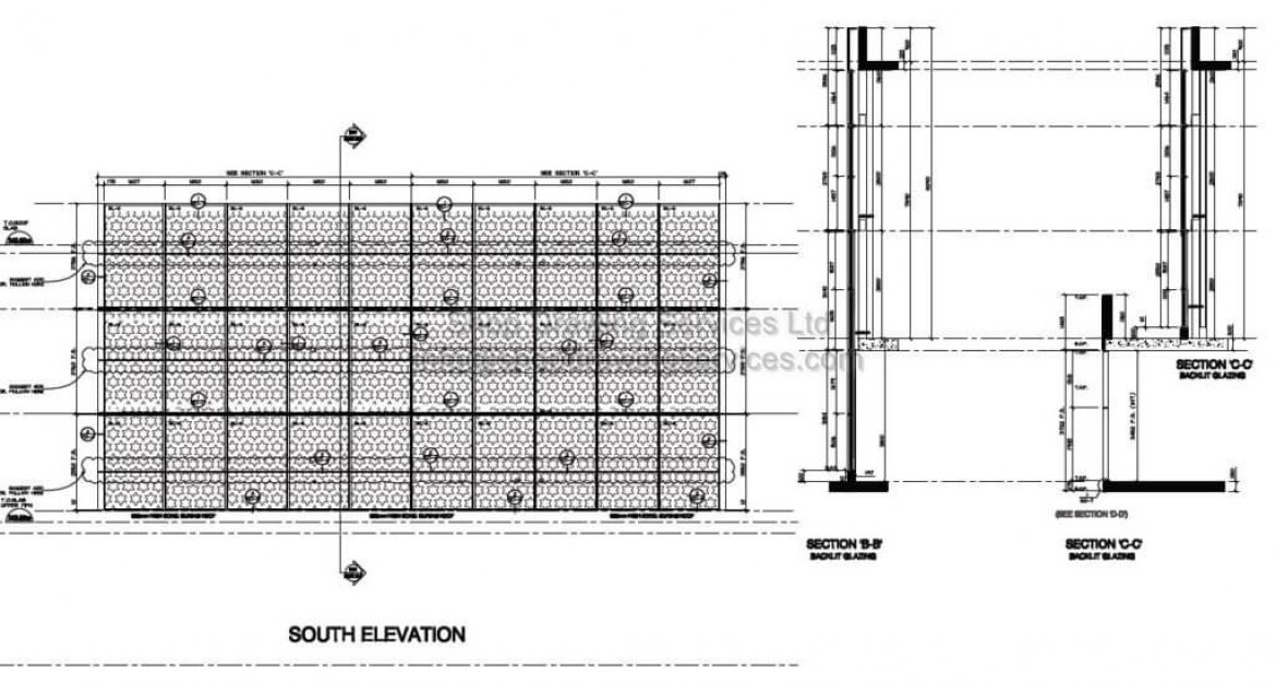 Aluminum Shop Drawings