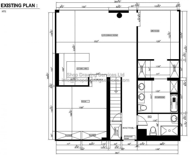As Built Floor Layout Drawings