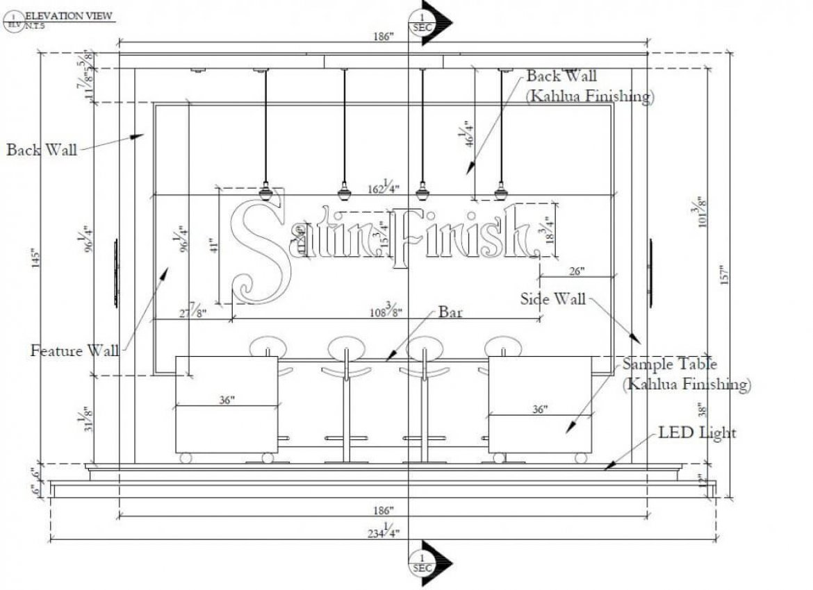 Booth Shop Drawings