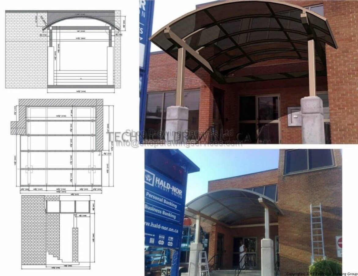 Canopy Shop Drawings