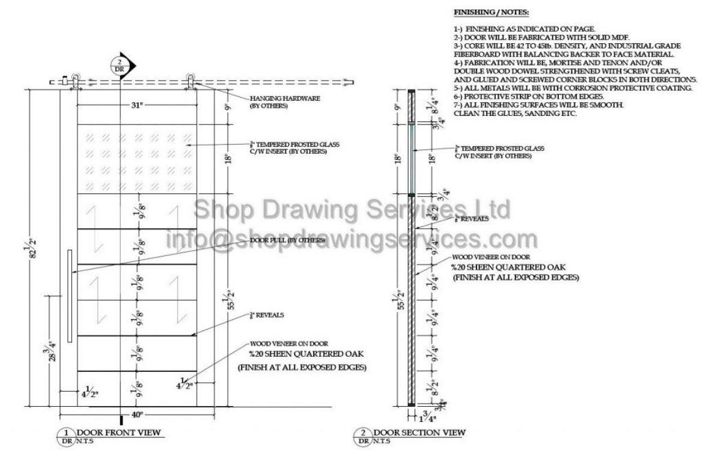 Trocal 76 entry door tiltturnwindows ca - Custom Door Shop Drawings
