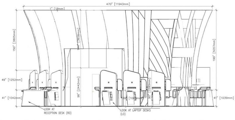 Custom Event Area Shop Drawings