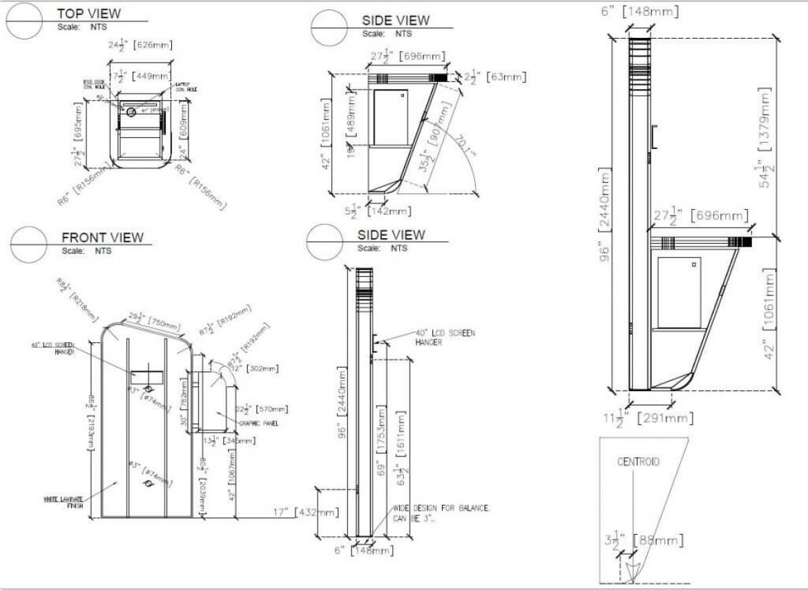 Custom Show Design Shop Drawings