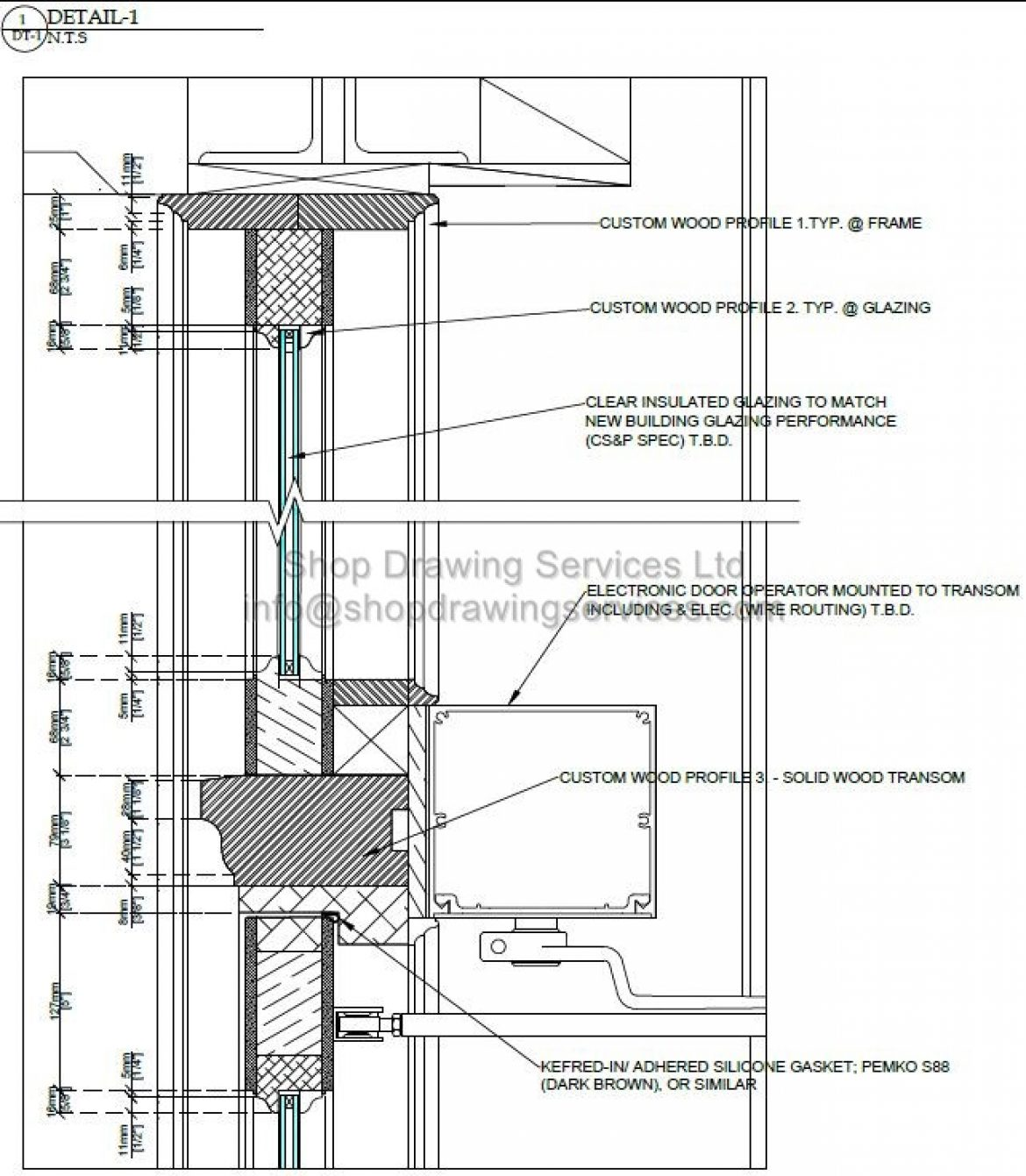 Millwork Archives Page 2 Of 3 Shop Drawing Services Ltd