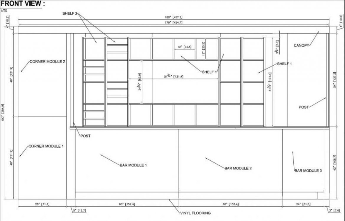 Exhibit Show Booth Cad Drawings