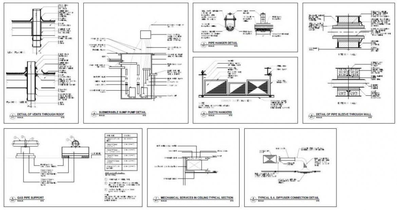 hvac shop drawings