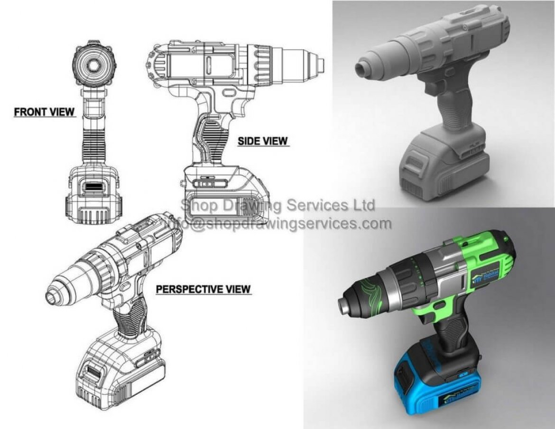 Product Rendering Drawings