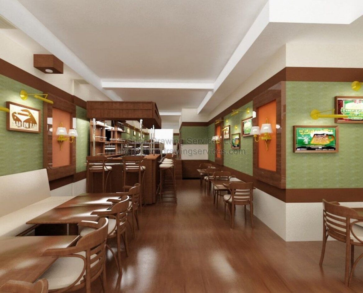 Restaurant Design Renderings