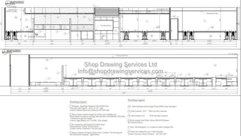 Renovation cad drawings