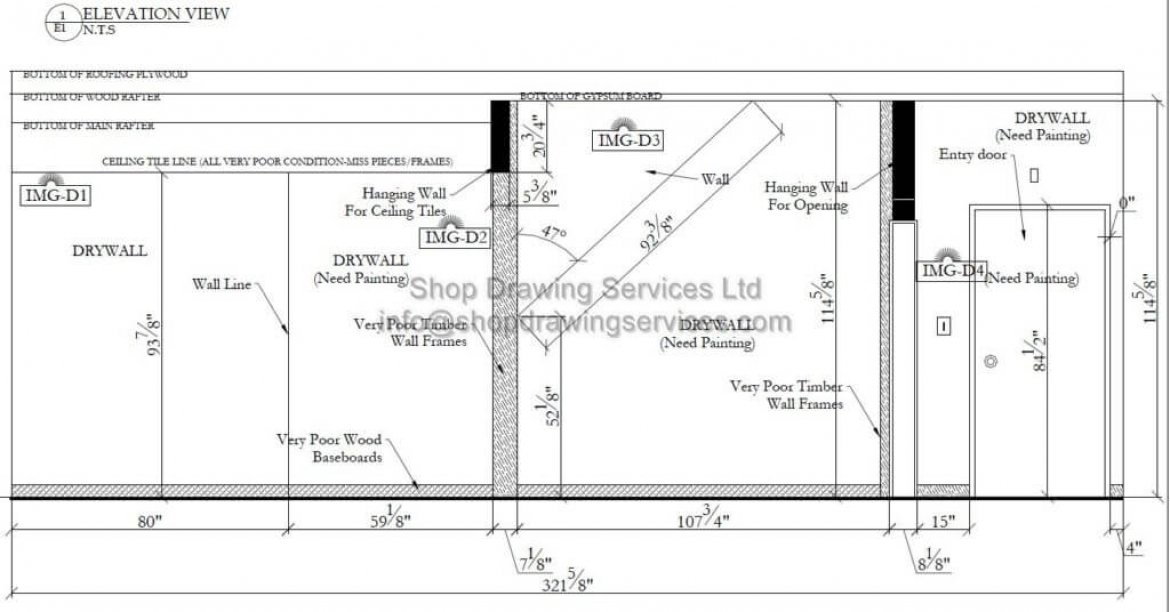 site survey cad drafting services