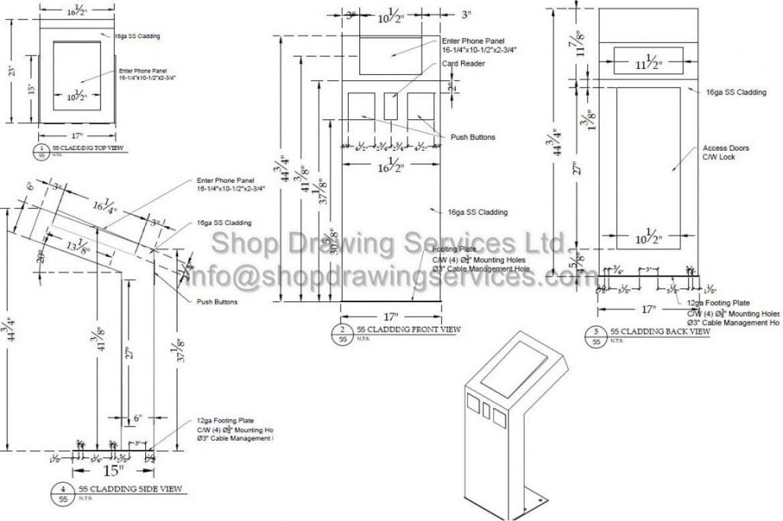 Stainless Steel Shop Drawings