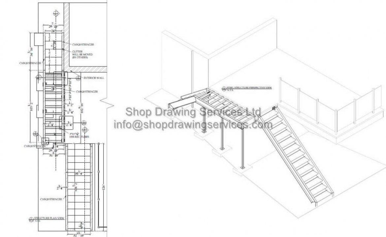 Steel Deck Shop Drawings