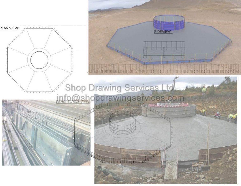 Steel Mold Shop Drawings