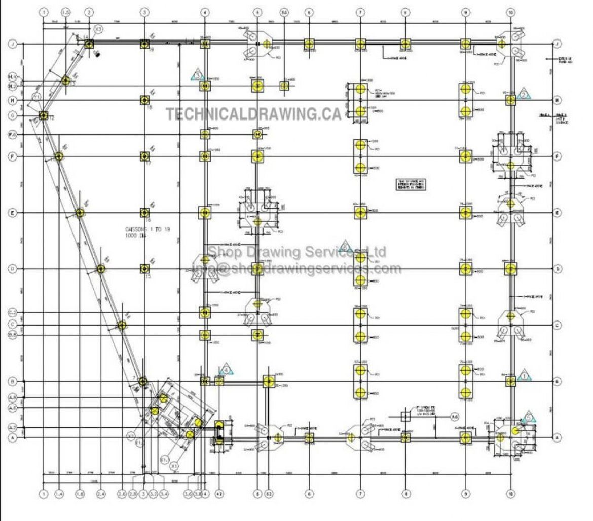 Structural CAD Drafting services