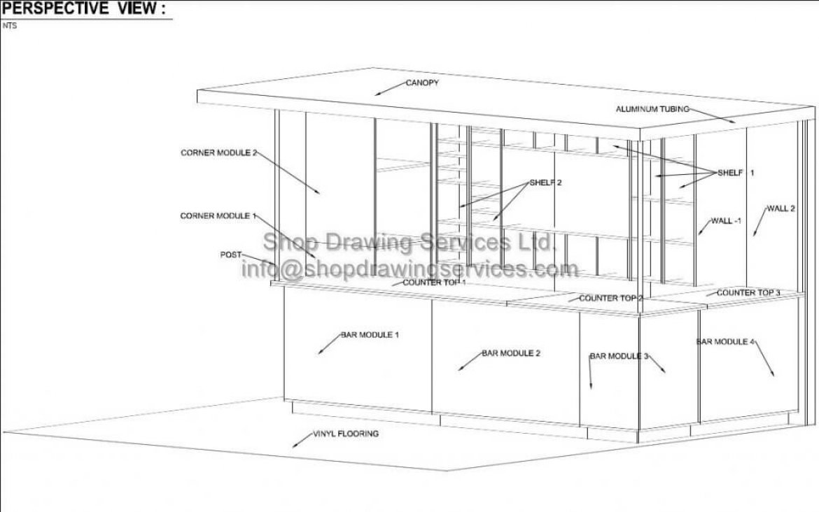 Trade Booth 2d CAD Drawings