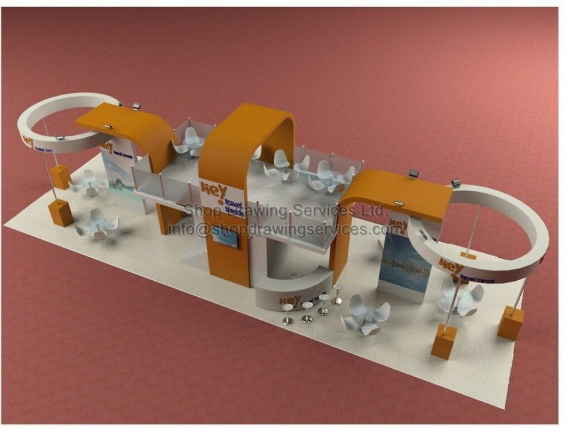 Trade Show Design Drawings